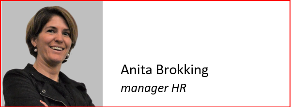 HaarsGroep Anita Brokking, manager HR